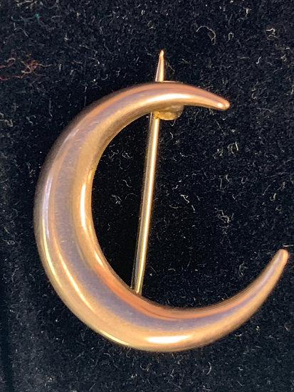Victorian Moon Pin