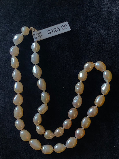 "18"" Freshwater Pearls"