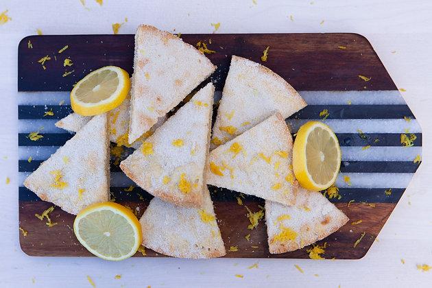 All butter Zesty Lemon Shortbread
