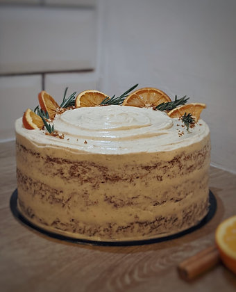 Amy's Spiced Carrot and Orange Cake