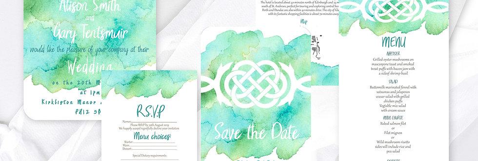 Celtic Knot Invite Pack