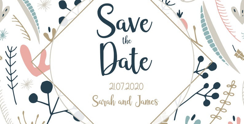 Nordic Botanical - Save the Date -