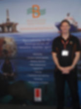 Ashley Coutts at OSEA 2010 - the 18th International Oil & Gas Industry Exhibition and Conference