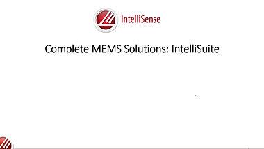 Complete MEMS Solution