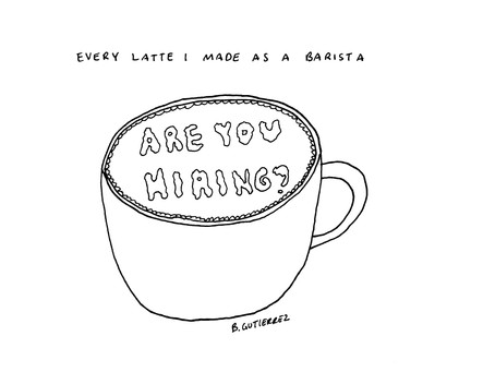 Every Latte I Made as a Barista
