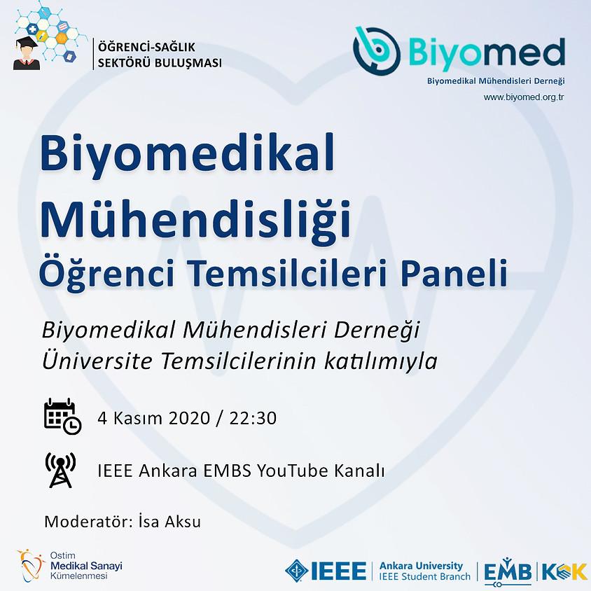 Biyomedikal Mühendisliği Öğrenci Temsilcileri Paneli