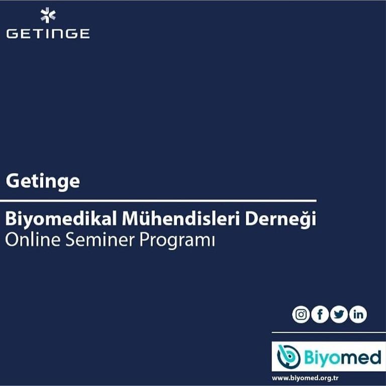 Getinge & Biyomed Online Seminer Programı