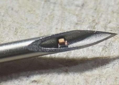 Vücut Fonksiyonlarını Ultrasonla Gözlemleyebilen  Küçük Kablosuz Çipler