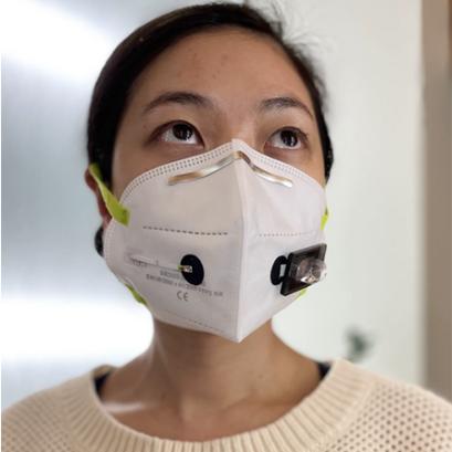 SARS-CoV-2'yi Tespit Eden Yüz Maskesi