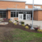 The south entrance of South Haven High School serves as a second main entrance as it leads to many extracurricular events hosted at the school.