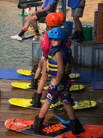 Cable wakeboard park at Lake Arvesta Farms