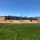 South Haven High School Berm project