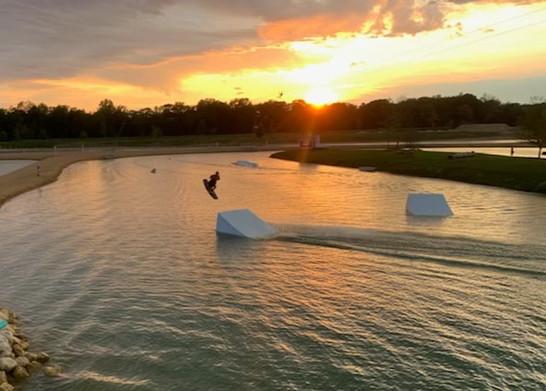 Wakeboarding at Lake Arvesta Farms
