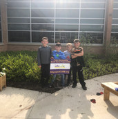 South Haven Surge  8U & 10U Baseball Teams collaborated on campus clean-up projects in 2019.
