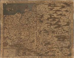 Historical map - Kingdom of Poland XVI century