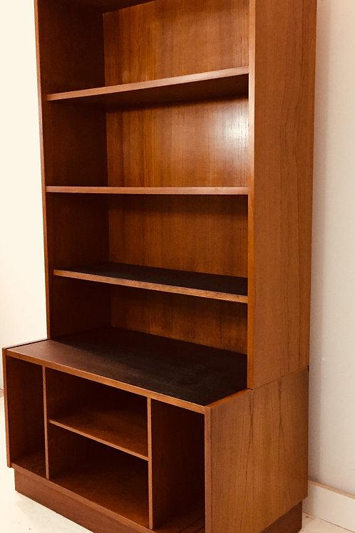 vintage teak media cabinet (sold)