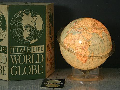 vintage Time Life globe light (sold)