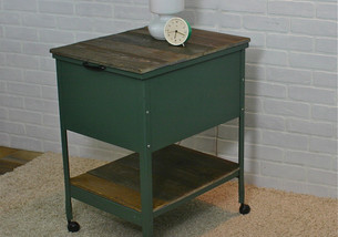 upcycled metal cabinet (sold)