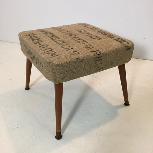 upcycled vintage footstool (sold)
