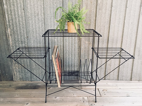 vintage record stand (sold)