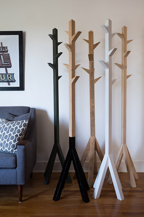 tree coat rack (made to order)