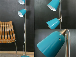 retro style floor lamp (sold)