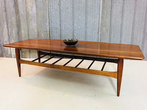 mid century coffee table (sold)