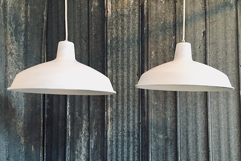 vintage pendant lights (sold)
