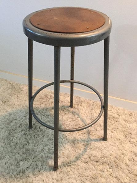 vintage industrial stool (sold)