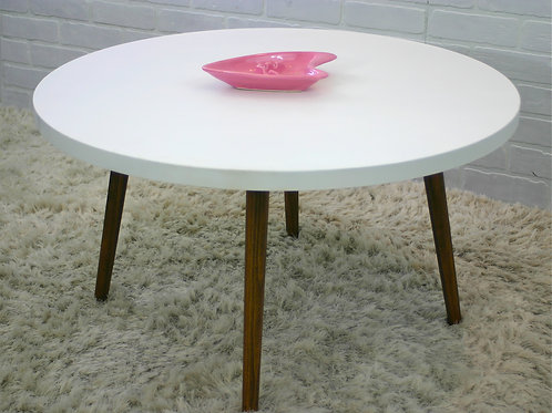 vintage round coffee table (sold)