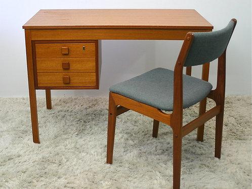 teak desk & chair (sold)