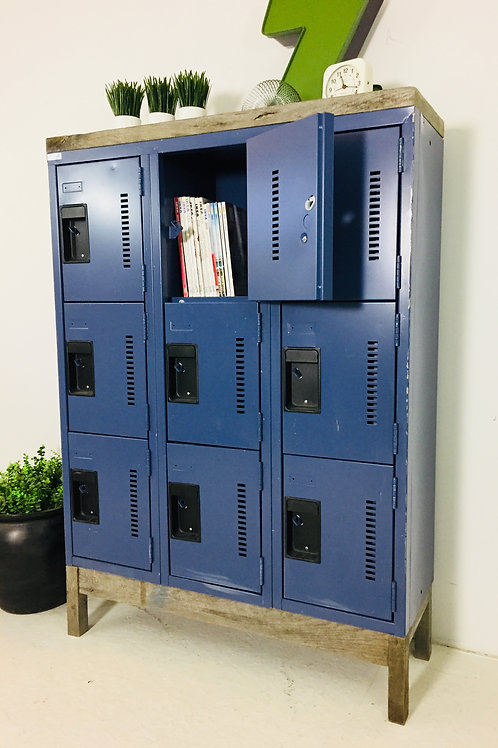 upcycled lockers (sold)