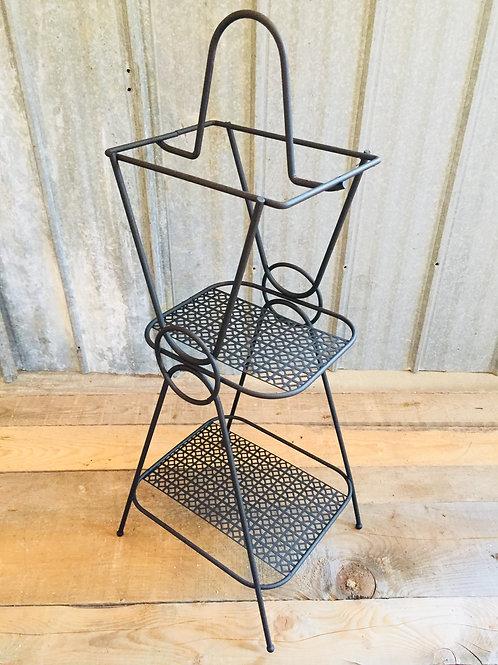 vintage steel side table (sold)