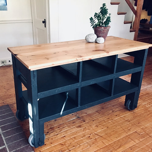 upcycled industrial cart (sold)