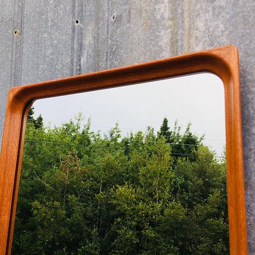 mcm teak wall mirror (sold)