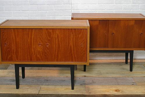 teak cabinets (sold)
