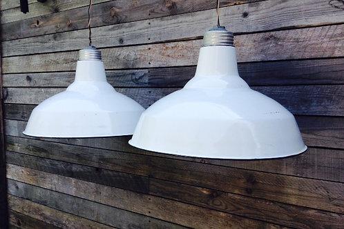 vintage pendant lights (sold)