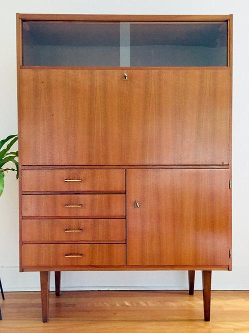 vintage teak cabinet (sold)