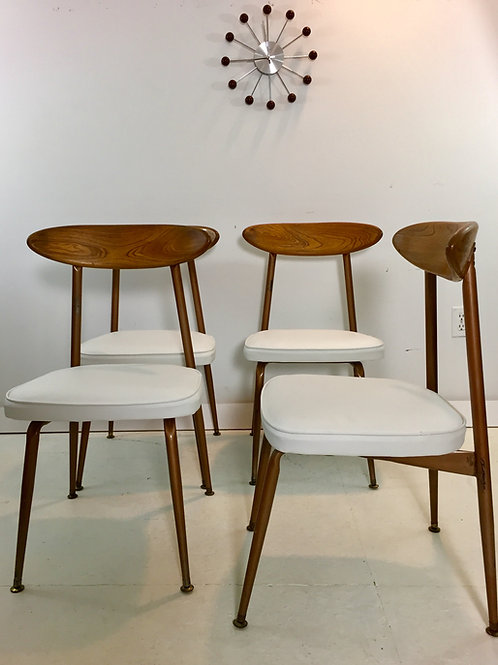 mid century dining chairs (sold)