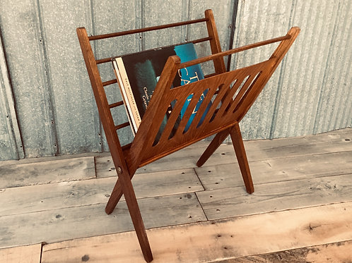 mid century book rack (sold)