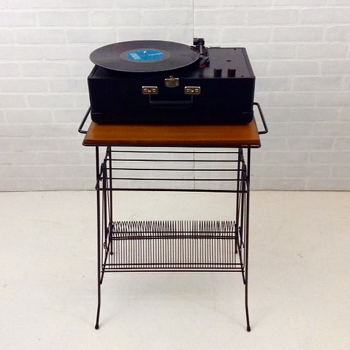 vintage record rack (sold)