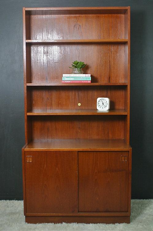 teak bookcase (sold)