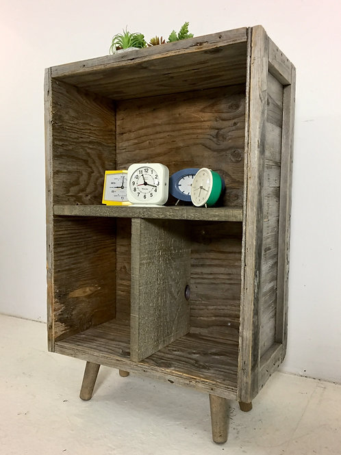 upcycled crate shelving (sold)