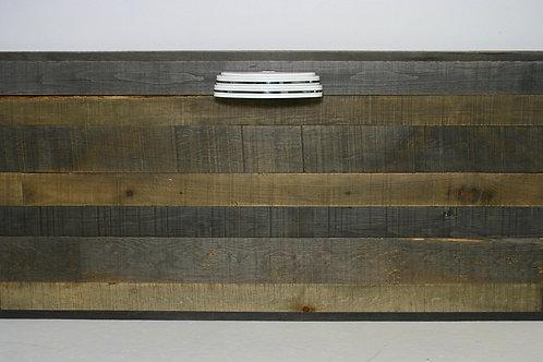 salvaged wood headboard (sold)