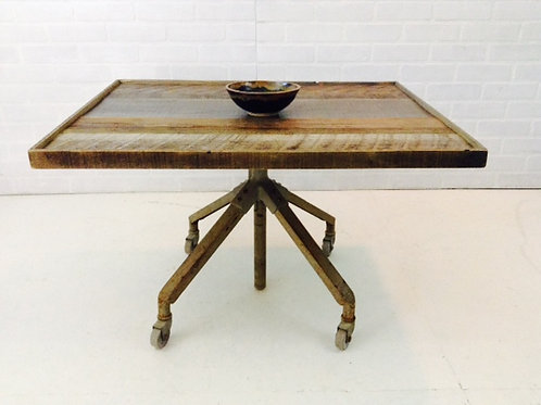 upcycled factory table (sold)