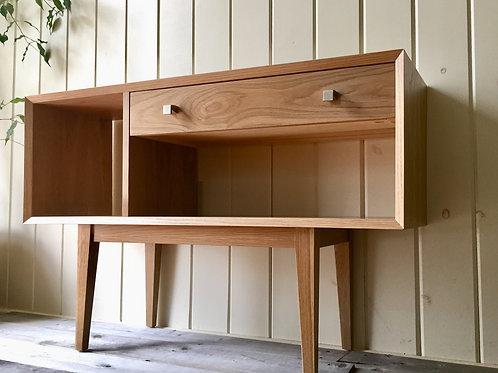 koast cabinet - white oak