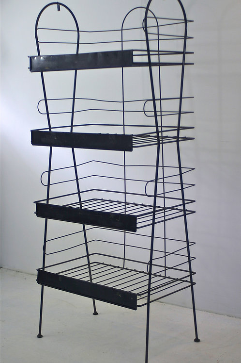 vintage steel display stand (sold)
