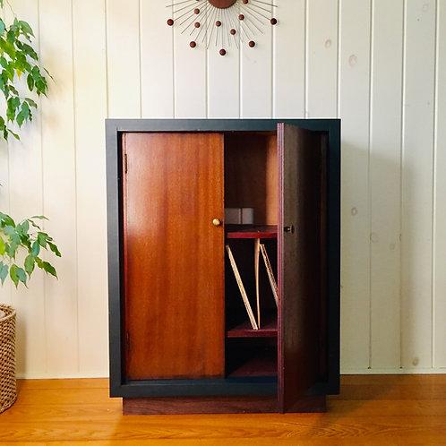 vintage record cabinet (sold)