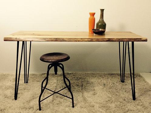 industrial desk & stool (sold)