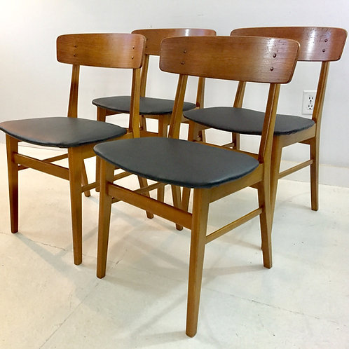 vintage danish dining chairs (sold)